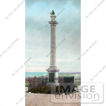 #41054 Stock Photo Of The James Wolfe Monument In Memory Of The Battle Of The Plains Of Abraham, Quebec, Canada by JVPD