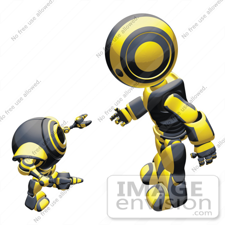 Talking Robot Clip Art