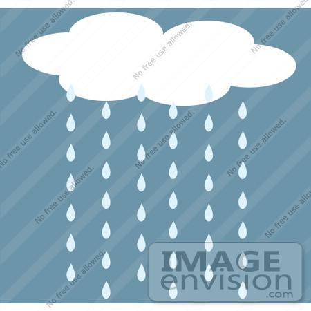 Clip Art Rain Cloud. #42319 Clip Art Graphic of