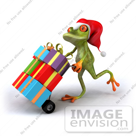 Froggy christmas gifts