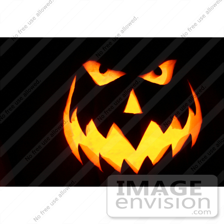#43 Picture of a Halloween Pumpkin Carving by Kenny Adams