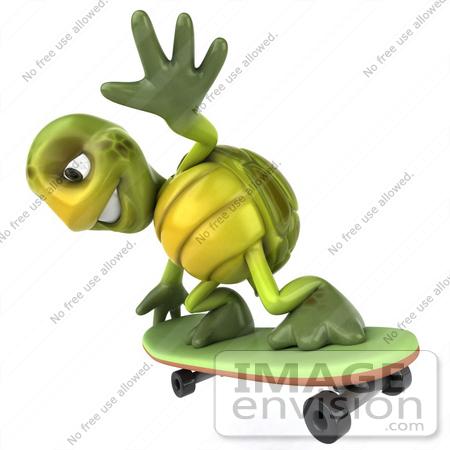 Mascot Skateboarding