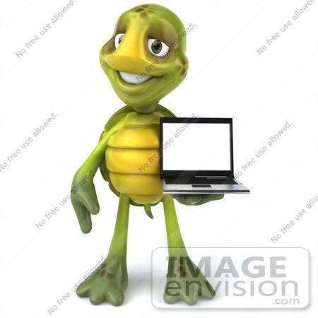 Cartoon Turtle Standing