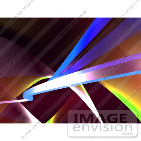 #43290 Royalty-Free (RF) Illustration of an Abstract Swoosh Background - Version 7 by Julos