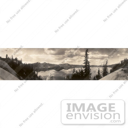 #4812 Crater Lake in 1913 by JVPD