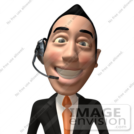 Royalty-Free (RF) Illustration Of A 3d White Collar ...