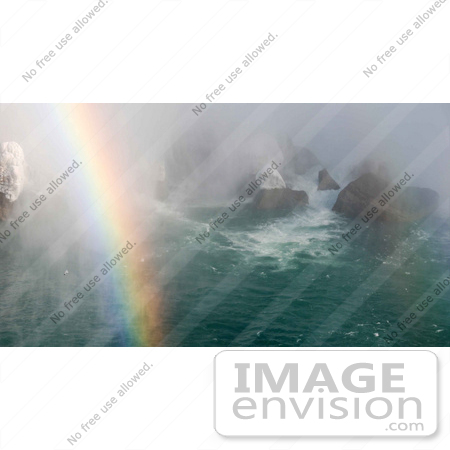 #53913 Royalty-Free Stock Photo of Niagara Falls in Winter, Canadian Side by Maria Bell