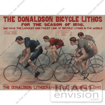 #5396 Donaldson Bicycle Lithos by JVPD