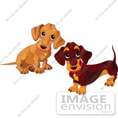 Royalty-Free Cartoons & Stock Clipart of Puppy Dogs | Page 1