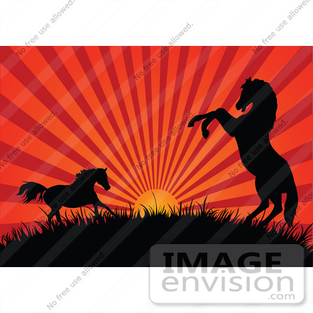Royalty-Free Cartoons & Stock Clipart of Sunsets | Page 1