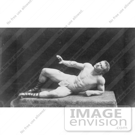 #5912 Sandow Posed as The Dying Gaul by JVPD