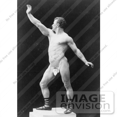 #5913 Eugen Sandow in Pose by JVPD