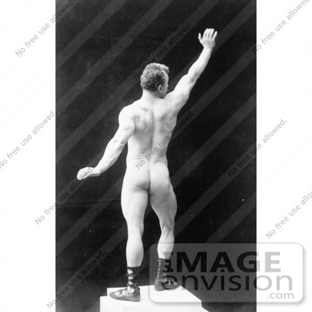 #5918 Eugen Sandow, Rear View by JVPD