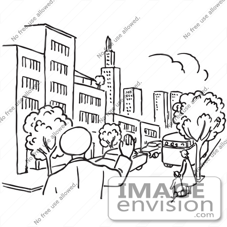 http://imageenvision.com/450/61677-clipart-of-a-police-man-waving-in-a-city-in-black-and-white---royalty-free-vector-illustration-by-jvpd.jpg Police
