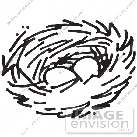 Nest Clipart Black And White | Free Images at Clker.com - vector clip art  online, royalty free & public domain