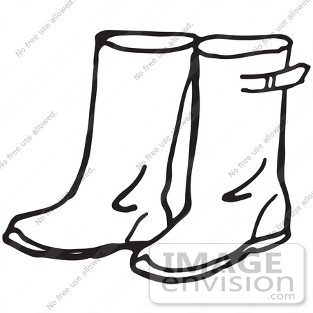 Pair of shoes coloring pages