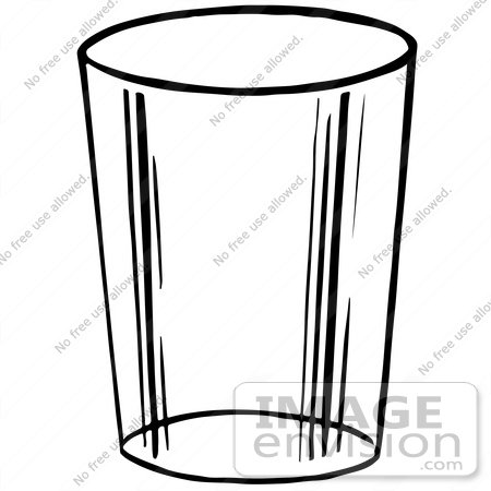 clipart of a glass cup in black and white royalty free vector rh imageenvision com glasses clip art free glasses clipart images