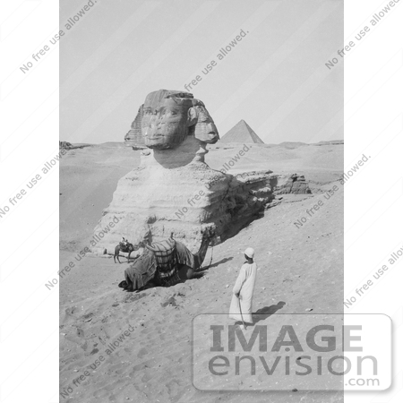 #6482 Egyptian Pyramids and Great Sphinx, Egypt by JVPD