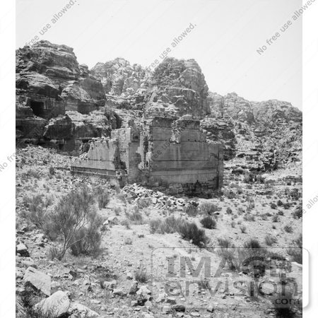 #6674 Temple of Kasr Firaun, Petra by JVPD