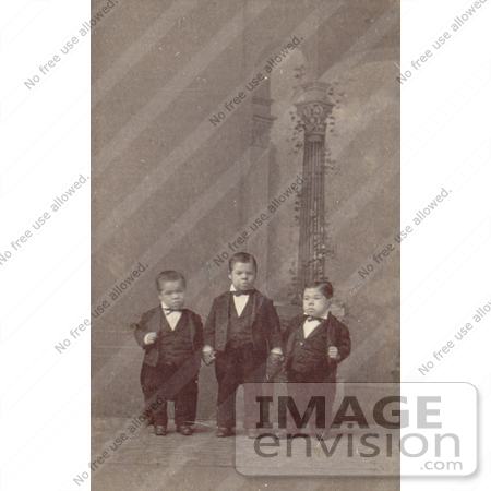 #6774 The Murays Midgets in 1880 by JVPD