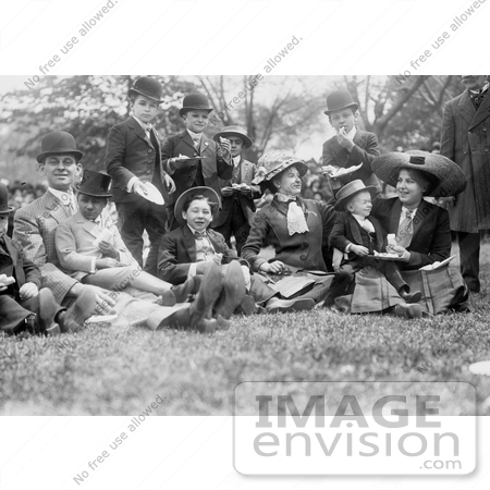 #6776 Midgets May Party in 1910 by JVPD