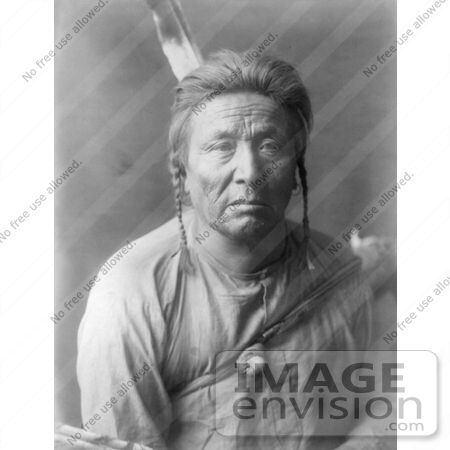 Stock image of an Apsaroke Native American Indian man by the name of ...