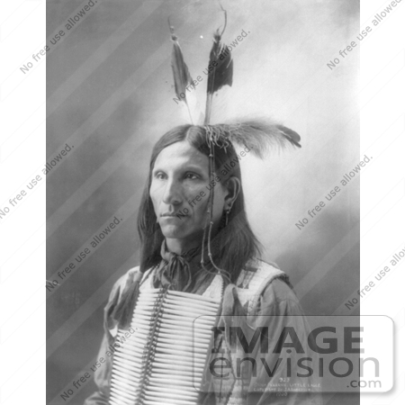 #7149 Stock Image: Sioux Indian Named Little Eagle by JVPD