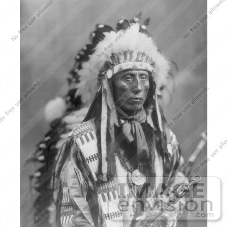 #7152 Stock Image: Sioux Indian Named Jack Red Cloud by JVPD