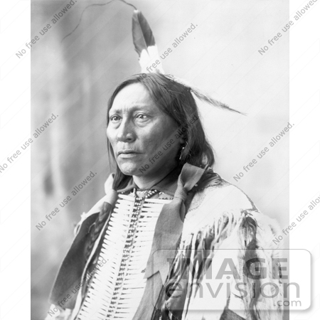 #7263 Stock Image: Chief Hollow Horn Bear by JVPD