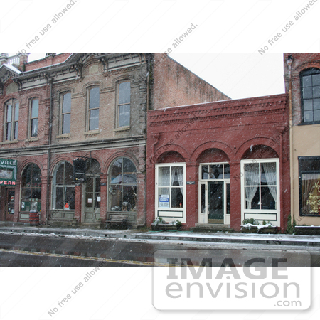 #753 Photograph of Downtown Jacksonville, Oregon in the Snow by Jamie Voetsch