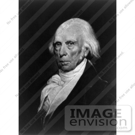 #7548 Image of President James Madison by JVPD