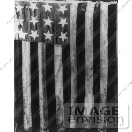 #7585 Picture of The Original Stars and Stripes Flag With 13 Stars by JVPD