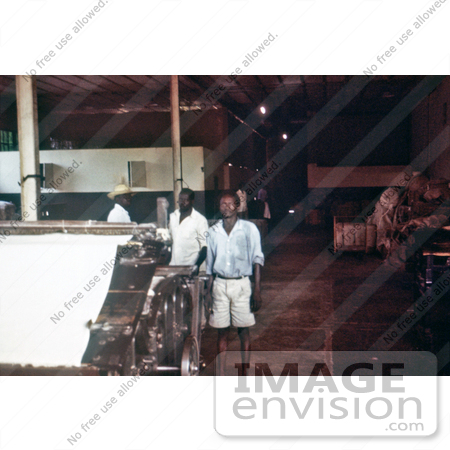#7729 Picture of Cotton Factory Thought To Have The Earliest Cases Of The 1976 Sudan Ebola Outbreak by KAPD