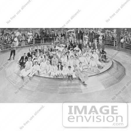 #7786 Photo of the Human Roulette Wheel, Coney Island by JVPD
