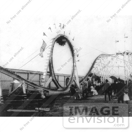 #7836 Photo of Flip Flap Ride, Coney Island by JVPD
