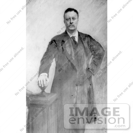 #7972 Picture of Roosevelt in 1903 by JVPD