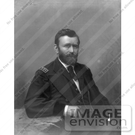 #8127 Picture of Ulysses S Grant by JVPD