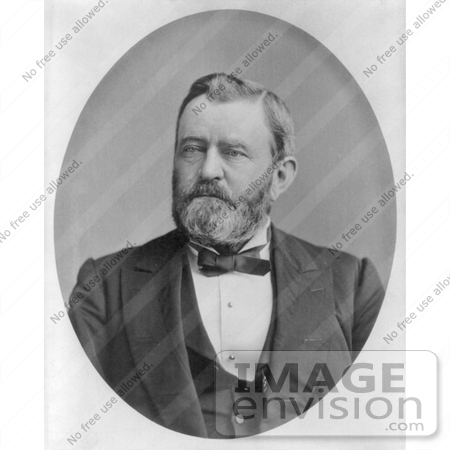 #8137 Picture of Ulysses S Grant in 1880 by JVPD