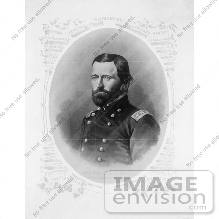 #8141 Picture of Ulysses S Grant by JVPD