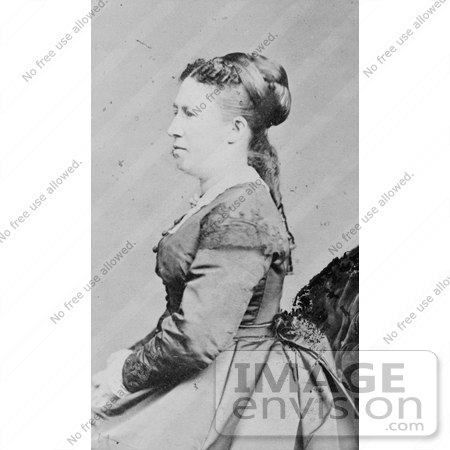 #8146 Picture of First Lady Julia Dent Grant by JVPD