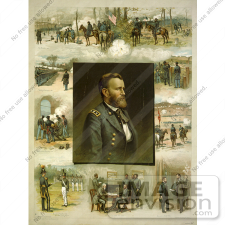 #8154 Picture of Ulysses Grant by JVPD