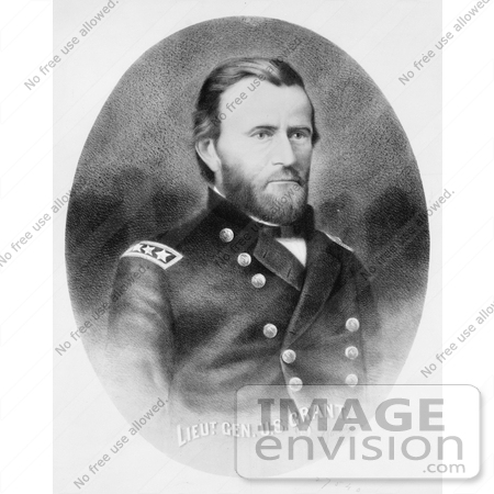 #8156 Picture of Ulysses S Grant by JVPD