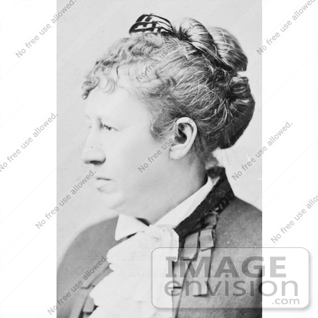 #8162 Picture of Julia Dent Grant by JVPD