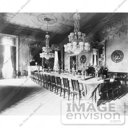 #8299 Picture of State Dining Room by JVPD