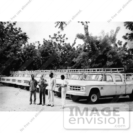 #8383 Picture of 1969  Truck Ceremony in Burkina Faso During the Worldwide Smallpox Eradication by KAPD