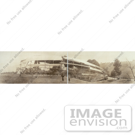 #8430 Picture of the USS Shenandoah Airship Wreck by JVPD