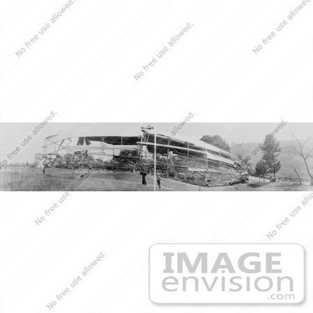 #8431 Image of the USS Shenandoah Disaster by JVPD