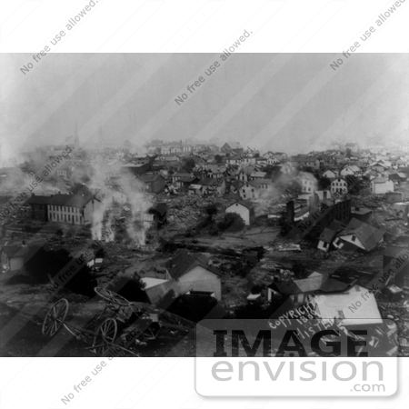 #8546 Picture of the Johnstown Flood of 1889 by JVPD