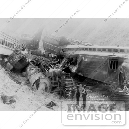 #8549 Picture of a Train Wreck by JVPD