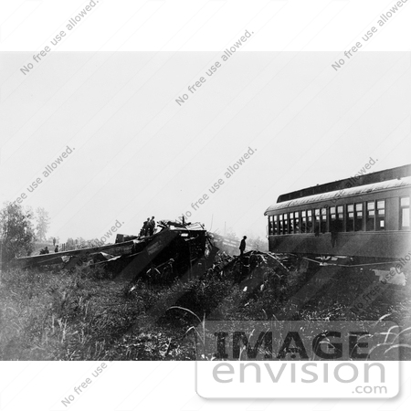 #8562 Picture of a Train Wreck in Chatsworth by JVPD